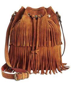 Patricia Nash Suede Bronte Bucket Bag - Handbags & Accessories - Macy's
