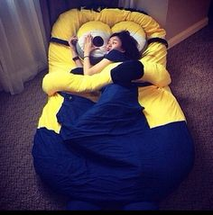 A minion bed!!!  I would love this!!!