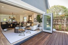 Modern Farmhouse Style | La Cantina bi-folding doors