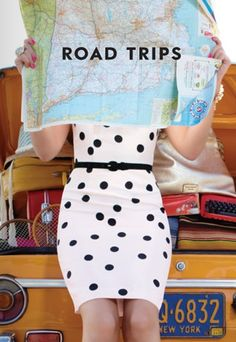 What I learn here is, maps are for posing only. Spot dresses mandatory