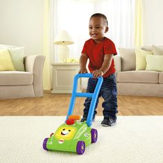It's time to mow the lawn – with a fun push toy that inspires early role play. 12 Mos +. Christmas?