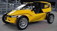 Ein Prototyp eines Stadtautos von Audi, mit wenig Verbrauch. Gefällt mir von der Optik her sehr gut.