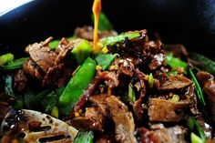Pioneer Woman's Beef with Snow Peas--one of my go-to favorites and dinner tonight!!!