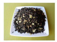 Herbstzeit ist Teezeit! Der hier abgebildete Pu Erh Tee mit Orange hilft beim Fettabbau. Hochwertig & biologisch.