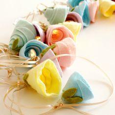 Pastel rose fairy lights, wedding decor, pastel themed, wedding lighting, girls room decor, mothers day gift