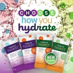 Choose how you hydrate