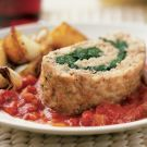 Try the Spinach-Stuffed Turkey Meat Loaf Recipe on Williams-Sonoma.com