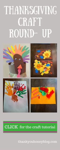 Thanksgiving Craft Round Up - Thank You Honey