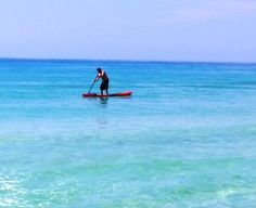 Paddleboarding the Gulf of Mexico Destin, FL