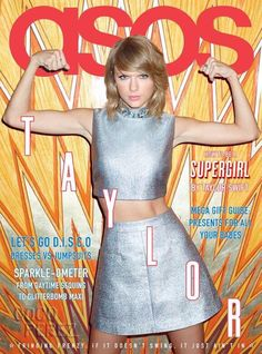 @taylornationSG: Taylor graces the cover of @ASOS magazine's December issue!