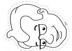 Maestra de Infantil: La familia. Abuelos, padres y nietos para colorear y recortar. Coloring Sheets, Coloring Books, Coloring Pages, Colouring, Family Theme, My Family, All About Me Preschool Theme, Family Worksheet, Cartoon Giraffe