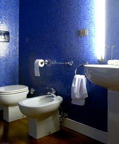 Blue Tiled Bathroom | photo Christian Schaulin | House & Home
