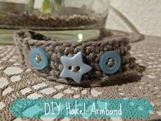 Nachgemacht: Häkelarmband aus der Simply Crochet