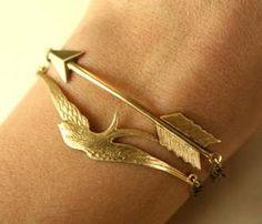 Bird & Arrow Linked Bracelets