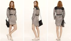 Dori Tomcsanyi windbreaker trench dress.  Available from September at the webshop. http://doritomcsanyi.com/
