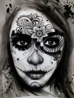 day of dead dia de los muertos | Day Of The Dead Dia De Los Muertos Tattoo Design