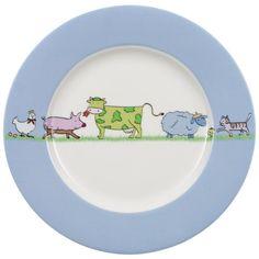 #FarmAnimals dinner plate | Villeroy & Boch