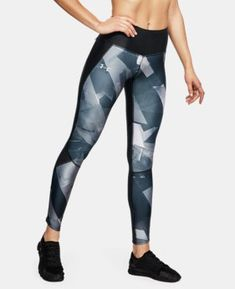 49730f84adf1e0 New Arrival Women's UA Armour Fly Fast Printed Tights 2 Colors Available  $65- #yogapants