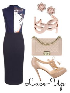 """Senza titolo #83"" by labicia on Polyvore featuring moda, Christian Louboutin, Solace, Chanel e Yves Saint Laurent"