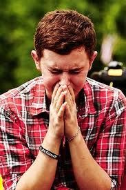 Scotty overwhelmed at his homecoming party. Country Singers, Country Music, Scotty Mccreery, Beautiful Inside And Out, Country Boys, Celebs, Celebrities, Future Husband, Love Story