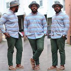 Notoriously dapper blog  Big handsome & stylish Man Mens Fashion Casual Shoes, Denim Jacket Fashion, Preppy Mens Fashion, Mens Fashion Suits, Chubby Men Fashion, Big Men Fashion, Plus Size Men, Moda Plus Size, Le Male
