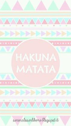 Hakuna mata life style