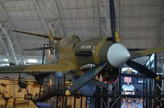 "Steven F. Udvar-Hazy Center: P-40 Warhawk with ""sharktooth"" nose - http://southafricanexperience.com/steven-f-udvar-hazy-center-p-40-warhawk-with-sharktooth-nose/"