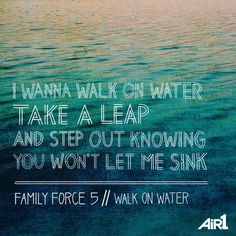 Family Force 5 // #WalkOnWater