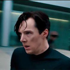 Benedict as Khan Khan Benedict, Benedict And Martin, Khan Noonien Singh, Star Trek Into Darkness, Guide To The Galaxy, Benedict Cumberbatch Sherlock, Star Trek Tos, Johnlock, Martin Freeman