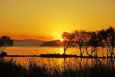 Sunset at Biwako Lake by Kooky Maverick on 500px