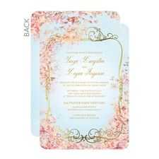 Perfect Paradise Wedding Cards | Foil stamped wedding invitations from Wedding Paper Divas