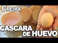 CREMA ANTI-ARRUGAS con CASCARA DE HUEVO de ACIDO HIALURONICO - YouTube