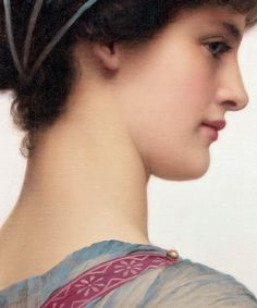 John William Godward - Classical Beauty (1908)