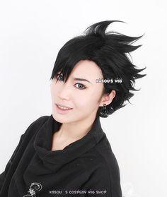 Haikyuu   Kuroo Tetsurou  short black by Kasouscosplaywigshop