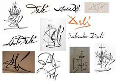 Tía Witty: Las 678 firmas de Dalí