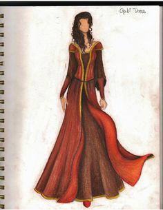 Gabi's Dress in Waterfall  By Callie Graham