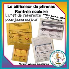 Phrases Complètes, Continents, Voici, Back To School, Teaching, 3d, Grade 2, Place, French