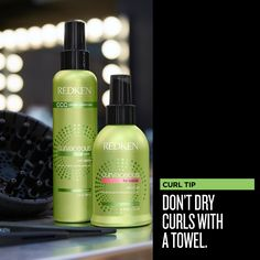 Curvaceous Curl Tip: Don't dry curls with a towel - instead, try drying with a cotton T-shirt or microfiber cloth