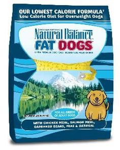 Natural Balance Fat Dog - Low Calorie 15 lb.