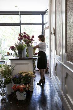 Hops Petunia in Kingston, NY. andnorth.com