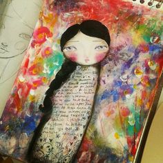 ARt Journal page from Atiasroom