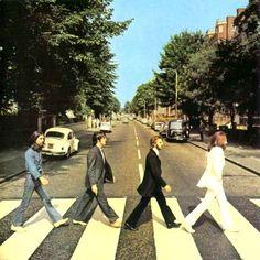 Carátula Interior Frontal de The Beatles - Abbey Road