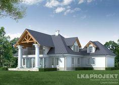 Projekt LK&882 http://lk-projekt.pl/lkand882-produkt-969.html #dworki #architektura #lk&projekt #projekytDomow  #dworkiPolskie