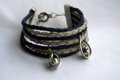 Bracelete 7 couros   www.munayartes.com