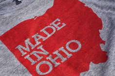 I kind of want this t-shirt.  I WAS made in Ohio, after all (just didn't stay there for very long afterwards!)