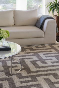 Designer Jeff Lewis has made high-end style budget-friendly with his new line of area rugs. The fresh look comes from pairing lively geometric patterns with calm, muted colors. See more Jeff Lewis rugs available exclusively at The Home Depot.