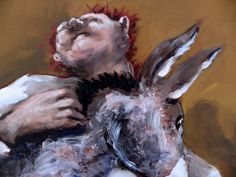 Gerard Garouste-La dame et les pies-Galerie Templon-130x160.
