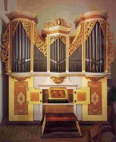 Freiberger Dom, Kleine Orgel Gottfried Silbermann 1718-1719