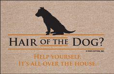doormat | FUNNY DOORMATS - HAIR OF THE DOG Coco Coir Mats N' More
