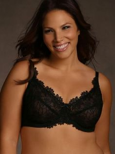 All for the love of lace. Our Zoe bra has sheer cups with an allover Venise lace overlay f...-fE8NMIRW